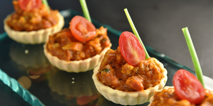 Chicken Tikka Masala Tart from Indique Gastrobar & Restaurant on Sukhumvit 22