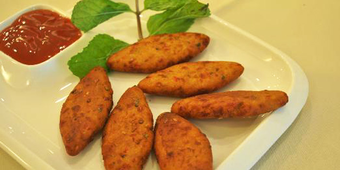 Chilly Milly Kebab from Myra (Indian Pur Vegaterian Restaurant) on Sukhumvit soi 22