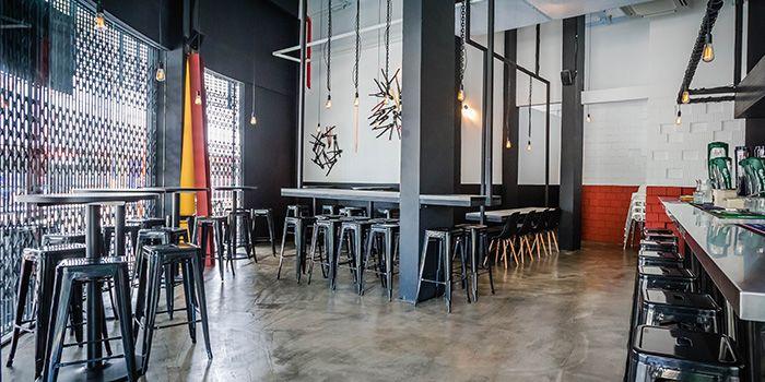 Dining Area of 1 Tyrwhitt Bistro Bar in Kallang, Singapore