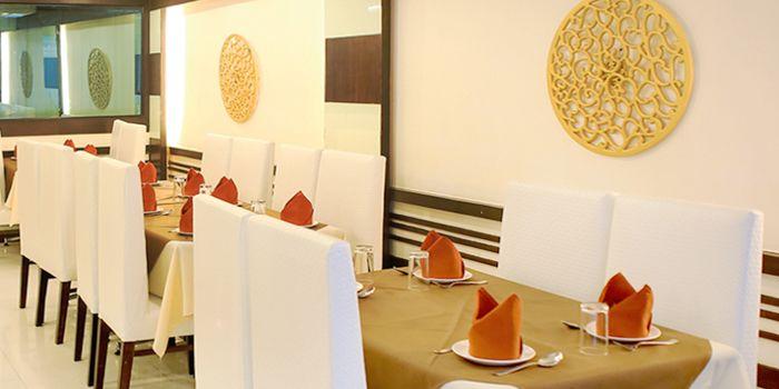 Dining Table from Myra (Indian Pur Vegaterian Restaurant) on Sukhumvit soi 22
