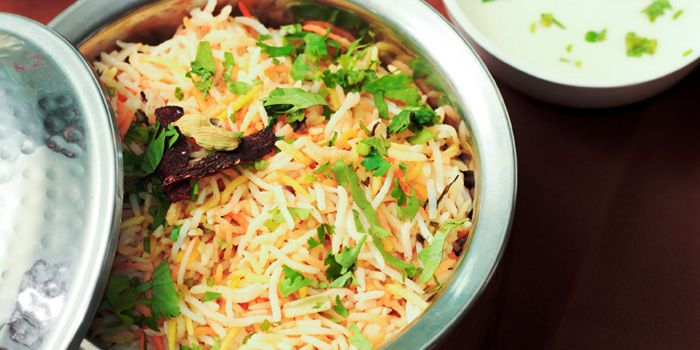 Dum Biryani from Myra (Indian Pur Vegaterian Restaurant) on Sukhumvit soi 22