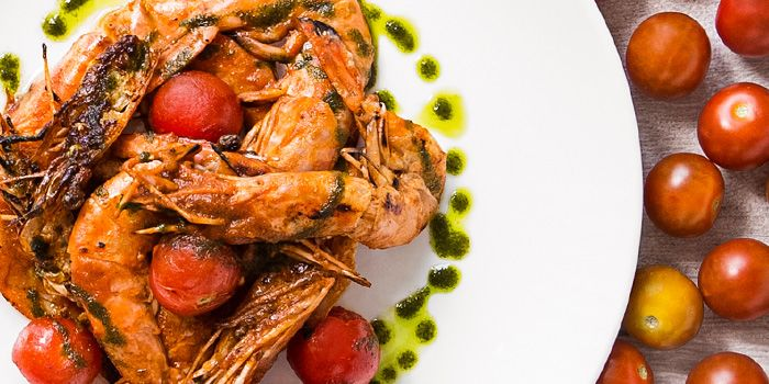 Grilled Prawns from Luxe Sydney on Keong Saik Road in Chinatown, Singapore