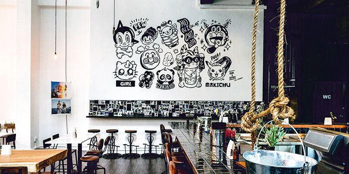 Interior from The Refinery in Jalan Besar, Singapore