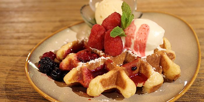 Waffles from Laurent
