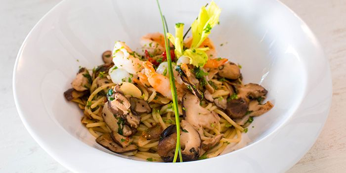 Mushroom Pasta from 1 Tyrwhitt Bistro Bar in Kallang, Singapore