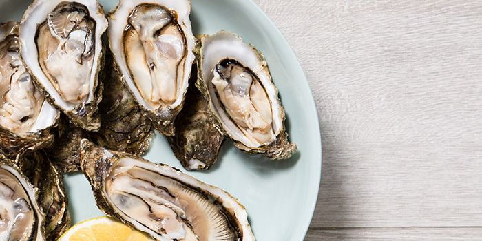Oysters from Luxe Sydney on Keong Saik Road in Chinatown, Singapore