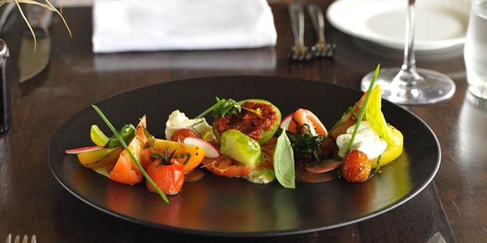 Seasonal Tomato Salad from Privé Grill at Marina at Keppel Bay, Singapore