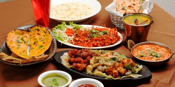 Set Menu from Myra (Indian Pur Vegaterian Restaurant) on Sukhumvit soi 22