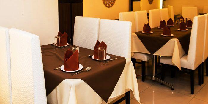 Table Set from Myra (Indian Pur Vegaterian Restaurant) on Sukhumvit soi 22