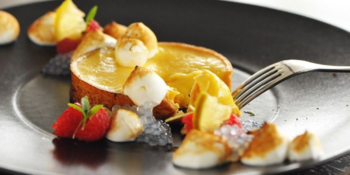 Tarte Citron from Privé Grill at Marina at Keppel Bay, Singapore