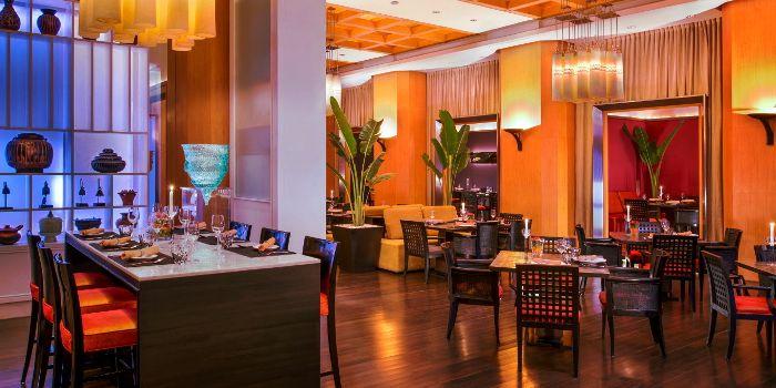 Basil Interior from Sheraton Grande Hotel, on Sukhumvit Road