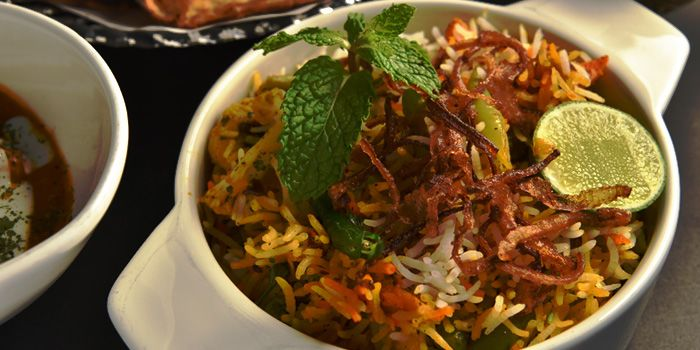 Dum biryani from Indique Gastrobar & Restaurant on Sukhumvit 22