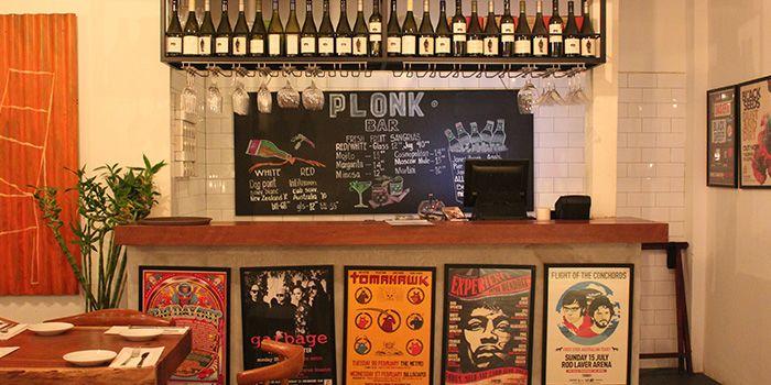 Bar of Plonk on Maju in Serangoon, Singapore