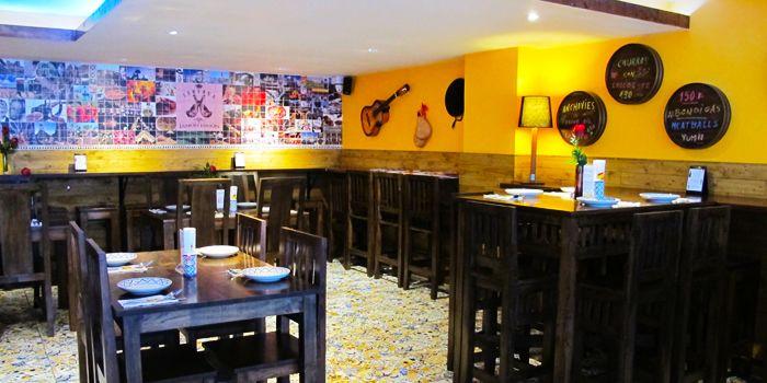Dining Area of Taberna Jamon Jamon in Sukhumvit Soi 20,Bangkok