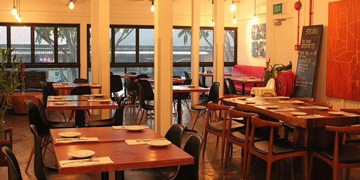 Dining Area of Plonk on Maju in Serangoon, Singapore