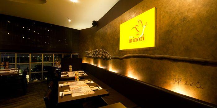 Interior from Shin Minori Japanese Restaurant in Robertson Quay, Singapore