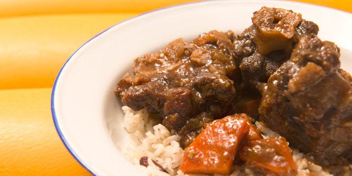 Jamaican Style Beef Stew, Rummin