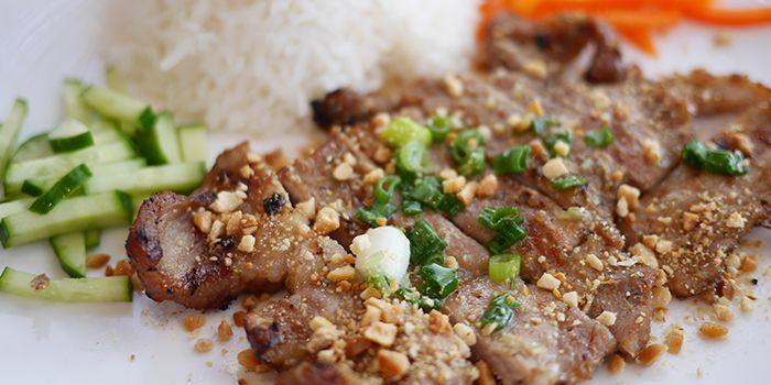 Pork Chop with Rice from L