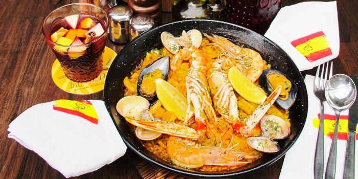 Seafood from Taberna Jamon Jamon in Sukhumvit Soi 20,Bangkok