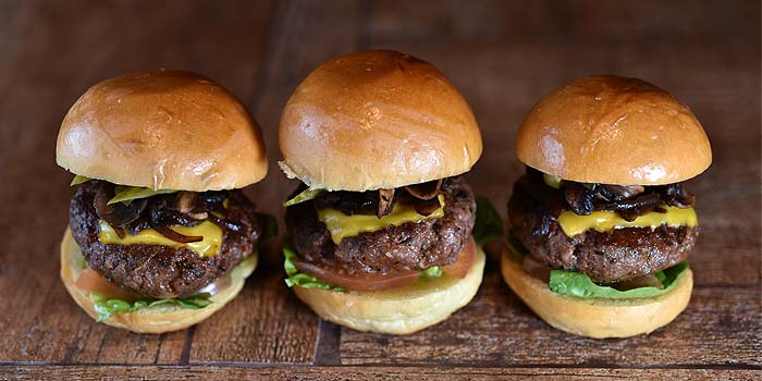 Sliders from The Berlin Bar & Restaurant in CHIJMES at City Hall, Singapore