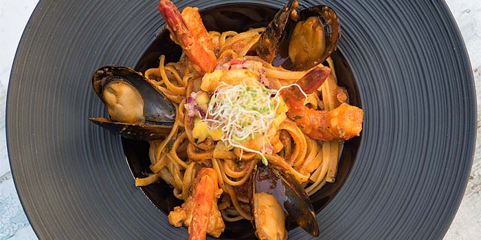 Seafood Marnara from The Berlin Bar & Restaurant in CHIJMES at City Hall, Singapore
