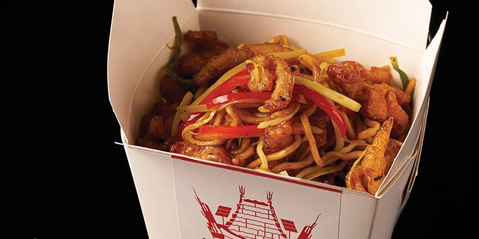 Chow-Mein from Lokkee in Dhoby Ghaut, Singapore