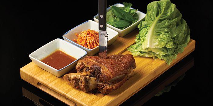 Crispy Pork Shank from Lokkee in Dhoby Ghaut, Singapore