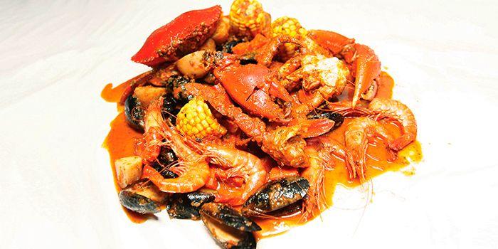 Seafood Boil from Dancing Crab in Bukit Timah, Singapore