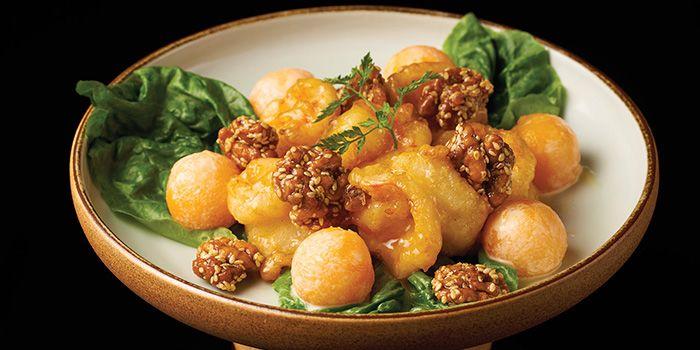 Honey Walnut Shrimp from Lokkee in Dhoby Ghaut, Singapore