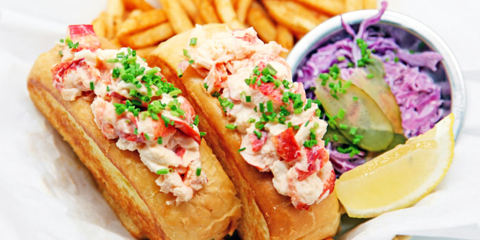 Lobster Roll from Dancing Crab at VivoCity in Harbourfront, Singapore