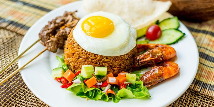 Nasi Goreng Gila from Bali Bistro & Balini Coffee in Jing