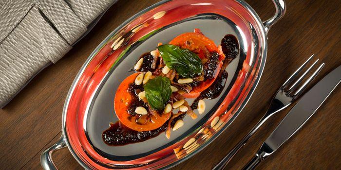 Kochi Fruit Tomato with Pancetta, The Teppanroom, Wan Chai, Hong Kong