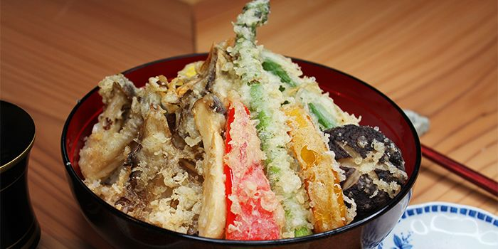 Yasai Tempura Don from Ryu