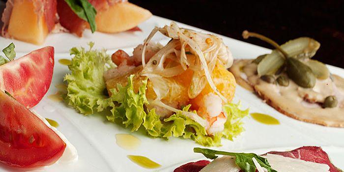 Antipasti from Spasso Restaurant & Bar at Grand Hyatt Erawan, Bangkok