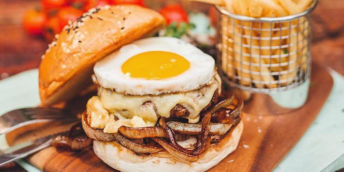 Burger from Spize (Rifle Range) in Bukit Timah, Singapore