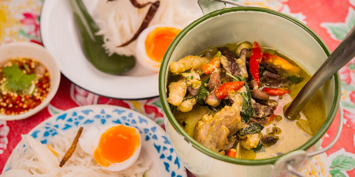 Chicken Soup Noodle from Err Urban Rustic Thai, Tatian