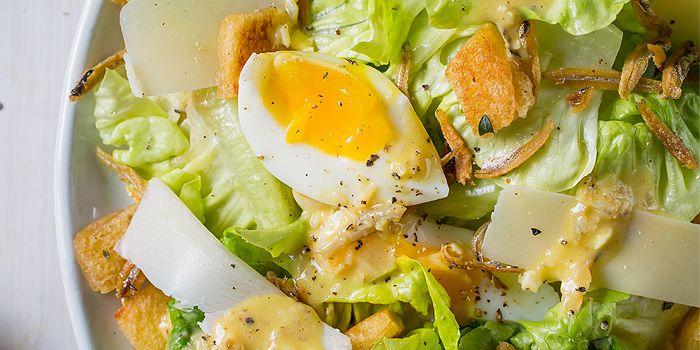 Ikan Bilis Caesar Salad from CreatureS in Jalan Besar, Singapore