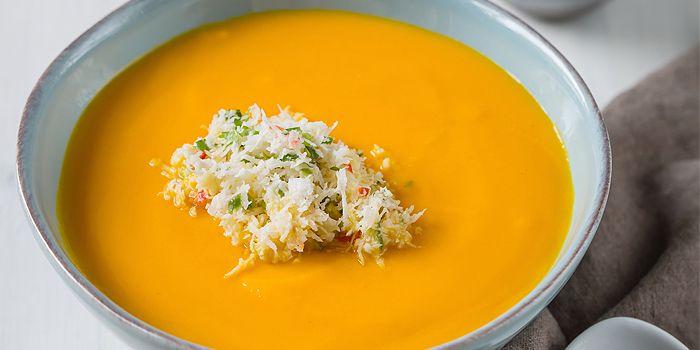 Pumpkin Soup with You Tiao from CreatureS in Jalan Besar, Singapore