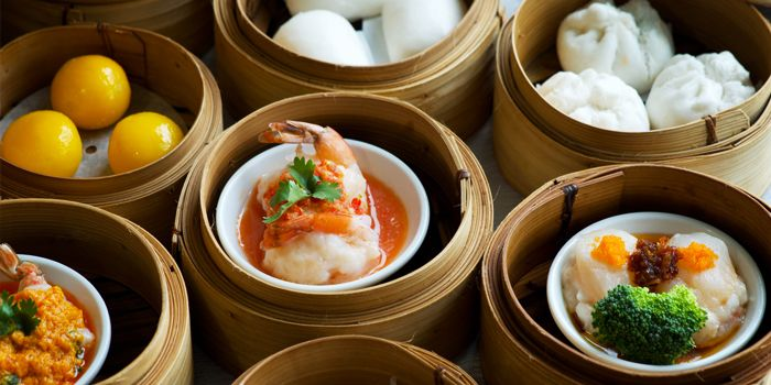 Dim Sum from Silver Waves at Chatrium Hotel Riverside, Bangkok
