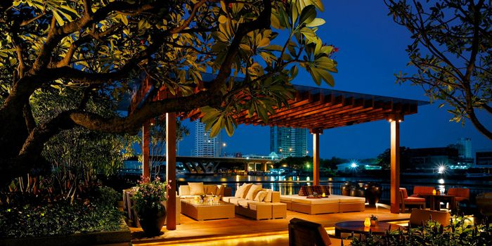 Dining Area from Next 2 Cafe at Shangri-La Hotel, Bangkok