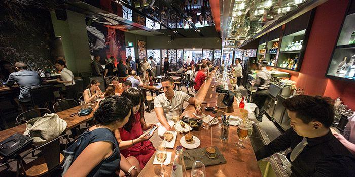 Dining Room in El Tardeo in Tanjong Pagar, Singapore