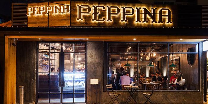 Exterior of Peppina in Sukhumvit Soi 33, Bangkok