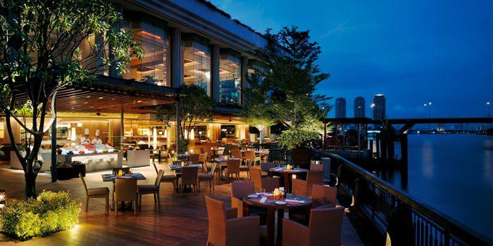 Exterior of Next 2 Cafe at Shangri-La Hotel, Bangkok