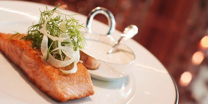 Fish Dish from Tables Grill Restaurant at Grand Hyatt Erawan, Bangkok
