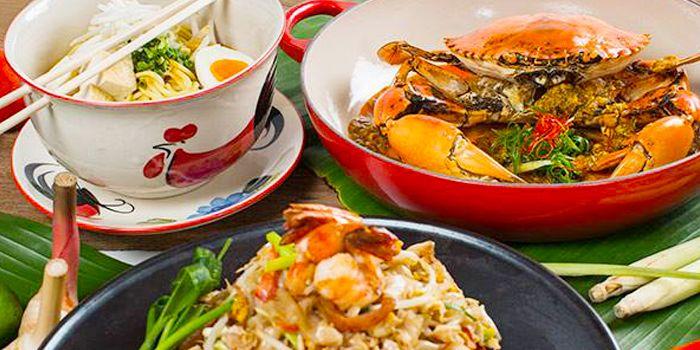 Food Spread from Next 2 Cafe at Shangri-La Hotel, Bangkok