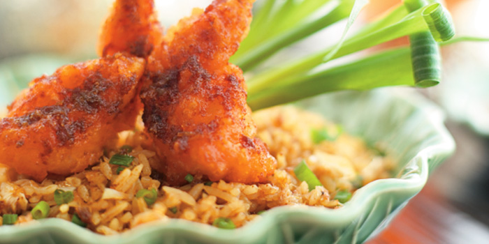 Fried Rice from Erawan Tea Room Restaurant at Grand Hyatt Erawan, Bangkok