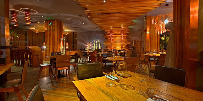 Interior of Cuivre by Michael Wendling in Xuhui, Shanghai