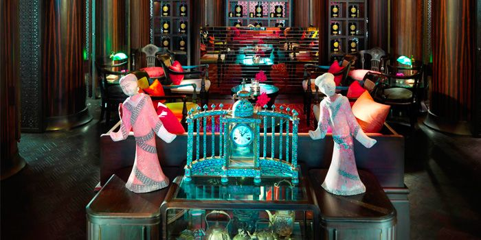 Interior of The China House at Mandarin Oriental, Bangkok