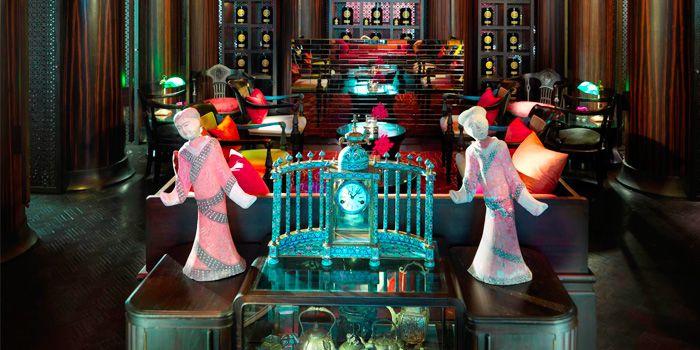 Interior of The China House at Mandarin Oriental, Bangkok