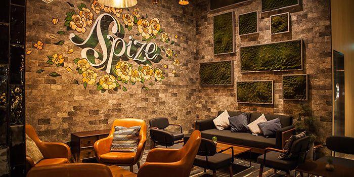 Lounge Area of Spize (Rifle Range) in Bukit Timah, Singapore